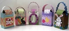 Easter pocket purses made with the Pazzles Inspiration® electronic cutter