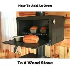 Add an oven to a woid stove