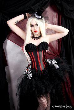 Gothic Vixen Black Trashy Formal Bustle TuTu Adult All Sizes MTCoffinz. $110.00, via Etsy.