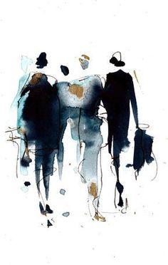 #watercolor #fashionillustration #weddinginspiration