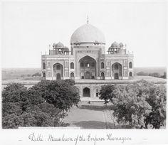 Delhi, Mausoleum of the Emperor Humayoon