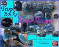hand painted rocks by KoonBerries