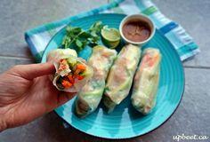 Raincoast Trading Salmon Salad-Rolls