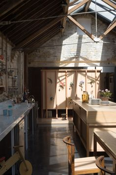 Filmmaker Tapio Snellman has documented the ageing process of architect Jonathan Tuckey's home, 14 years after he overhauled a London workshop to create it.