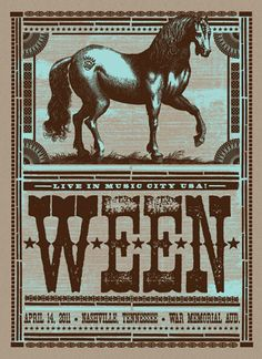 GigPosters.com - Ween