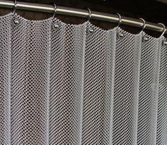 chain mail curtains