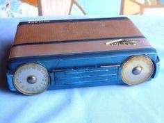 Rádio Antigo Silvertone Transistor - Raríssimo - Muito Lindo - R$ 149,00 no MercadoLivre