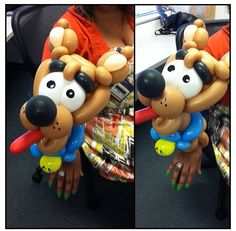 Scooby doo balloon character #scooby doo  #balloon #sculpture #twist #art #animal