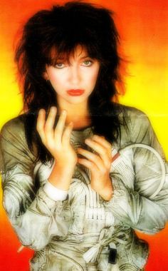 """Kate Bush in a promotional photograph for her single """"The Dreaming"""", 1982."""