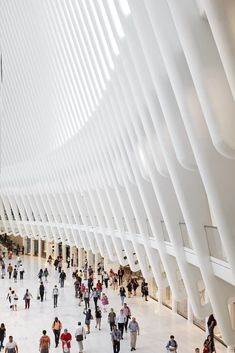 Gallery: Calatrava's WTC Transportation Hub Photographed by Hufton+Crow,©…