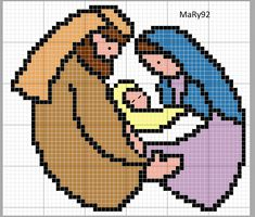 Cross Stitch Rose, Cross Stitch Charts, Cross Stitch Patterns, Cross Stitching, Cross Stitch Embroidery, Religious Cross, Paper Embroidery, Christmas Cross, Pixel Art