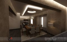 Mr. Moataz Duplex Apartment - modern - Drawings - Other Metro - MO Designs