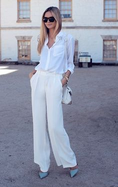 How to Wear: Neutrals on white on neutral this Spring #summerstyle #summer2013