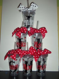 Personalized Tumblers Bridal Luncheon  by GetItPersonalized, $10.00