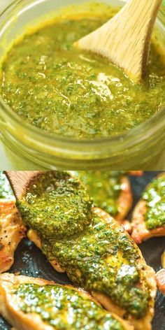 This oh-so-flavorful and tangy Moroccan Chermoula Sauce will serve as a healthy addition to your seafood, poultry, meat, and vegetable dishes. Cooktoria for more deliciousness! Share your photos with me, I ALWAYS check! Mexican Food Recipes, Keto Recipes, Vegetarian Recipes, Dinner Recipes, Cooking Recipes, Healthy Recipes, Ethnic Recipes, Vegetarian Lunch, Moroccan Food Recipes
