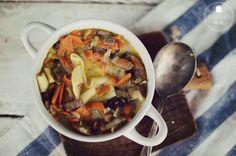 zupa pieczarkowa - pitu pitu slow food