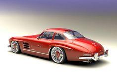 Bo Zolland entwirft Autos in 3D. Seine Corvette C7 im Retrolook oder Mercedes 300 SL und Pagode in Neuauflage sind saulecker. Aber auch aktuelle Modelle erhalten ein Update.