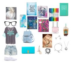"""""""Typical Uni Student"""" by paradise-queen on Polyvore featuring BLANKNYC, Vans, Spitfire, Michael Kors, Vera Bradley, Alexander Wang, NOVICA, BERRICLE, Pandora and Amanda Rose Collection"""