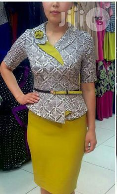 a2582bab10def Mint Green Peplum Dress (Turkey) for sale in Yaba