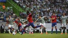 Sporting CP CSKA Moskva Islam Slimani struck late on as the hosts made home advantage tell with a dominant display after Seydou Doumbia missed a first-half spot kick in Lisbon. Champions League, Kicks, Lisbon, Sports, Display, Photos, Hs Sports, Floor Space, Pictures