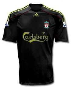 New Liverpool Away Shirt 2009/10