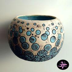 Polymer clay bangle | by Jana Honnerová