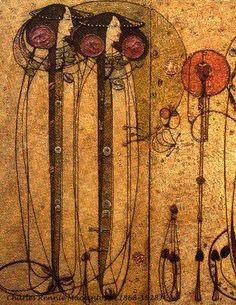 Wassail  by Charles Rennie Mackintosh