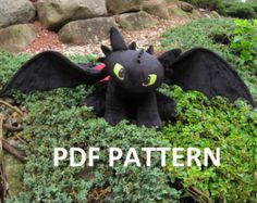 Toothless Dragon Amigurumi Pattern : Free printable sewing patterns toothless lofts and sewing