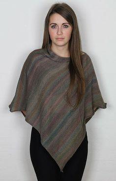 Let poncho Mix Green - Kvinder - Charlotte Tøndering - Designere