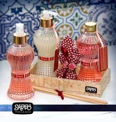 Linha Lovers by Sabbò - Homespray, difusor de aroma, sabonete líquido, sache perfumado - aroma flor de cerejeira.