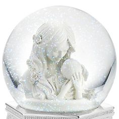 Personalized Mother's Embrace Musical Water Globe , something about this brought tears to my eyes. so sweet. this would make an incredible gift, for if or when I have a baby.