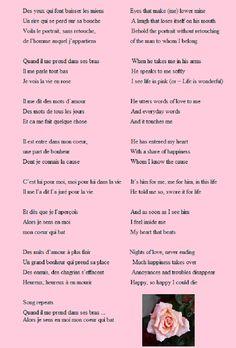 Alizee jen ai marre lyrics frenchenglish translation one of la vie en rose frenchenglish translation stopboris Gallery