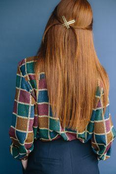 DIY: sleek twist #Hairstyle