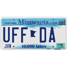 Uff Da...yes i say this and everyone here is looks at me strange or asks me if im from MN
