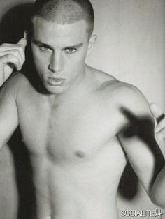 Channing Tatum shirtless photos six pack nude model underwear