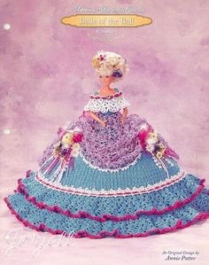 Rosemary, Annie's Glorious Gowns Belle of the Ball crochet pattern