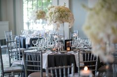 """If you're looking for glamorous wedding inspiration, look no further than this pretty Pittsburgh fête. With a timeless yet modern feel, sleek gray-and-white color palette, dramatic design fromSave The Date EventsandMichaelwill Photographyto capture it all, this sweet couple said """"I do,"""" in the wedding of their dreams. And thanks to THE VAULT, you can enjoyeach […]"""