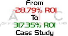 [Case Study] How I Transformed -28.79% ROI To 317.35% ROI On Diet Vertical With…