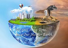 The #GlobalWarming & #Pollution is Affecting our #Earth. But it's still time we can save our Earth. So step up take the Responsibility.