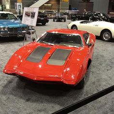 Know what this is? A rare bird...one of six mid-engine AMX sports cars built by AMC in 1970.