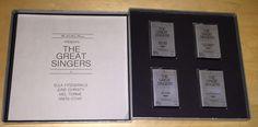 The Great Singers Easton Press 4 Cassette Box Set Ella Fitzgerald June Christy