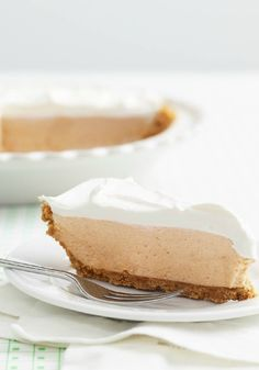 Frozen Double Peanut Butter Pie – With its yummy peanut butter-cream cheese filling, this dessert recipe will please both PB fans and cheesecake lovers alike.