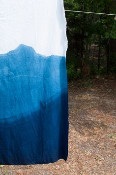 Indigo Dip Dyeing | Fabric Dyeing Tutorial