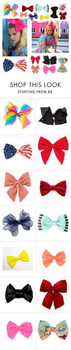 """""""JOJOS BOWS(@fashionluver02 )"""" by sarafleisch123 ❤ liked on Polyvore featuring SIWA, Carole, Decree, Chicnova Fashion, claire's and Disney"""