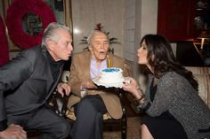 Kirk Douglas Turns 99 With A Party And A $15 Million Birthday Gift