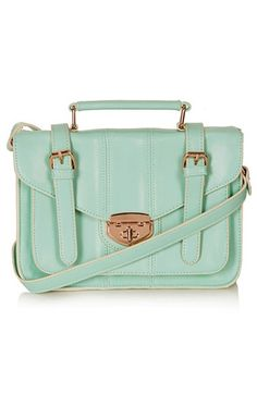 Topshop Turnlock Faux Leather Satchel available at #Nordstrom