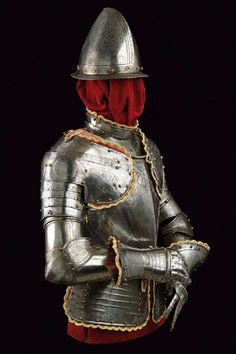 A Pisan style half armour - 6 Armadura Medieval, Horse Sculpture, Middle Ages, Asian Art, Art Deco Fashion, Art Day, Knights, Metal Working, Renaissance