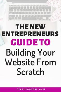 Need to build a website for your business? Want to create a website yourself? Then these 9 steps will walk you through creating your website from idea to launch. Start A Business From Home, Naming Your Business, Starting Your Own Business, Business Entrepreneur, Business Tips, Online Business, Entrepreneur Inspiration, Business Inspiration, Tips Online