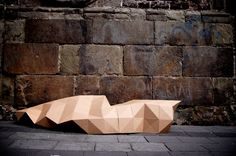 fernando resendiz folds cardboard into homeless shelter Folding Architecture, Temporary Architecture, Landscape Architecture, Folding Structure, Homeless Housing, Portable Shelter, Small Buildings, Tiny House Design, Play Houses
