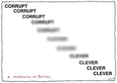 Corrupt - clever